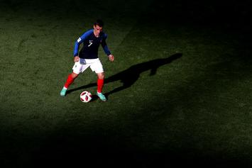 Antoine Griezmann The Hero In France's World Cup Win Over Uruguay