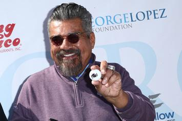 George Lopez Pretends To Urinate On Donald Trump's Hollywood Walk Of Fame Star