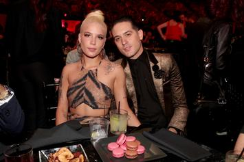 Halsey Backs Up G-Eazy's Claim That He And Demi Lovato Are Just Friends