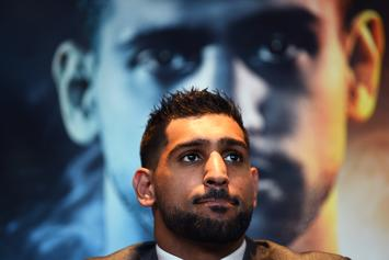 """Amir Khan Apologizes To Caitlyn Jenner For Referring To Her As """"Bruce"""""""