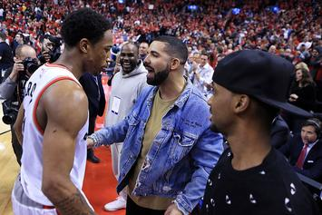 DeMar DeRozan Went To Drake's House After Learning Of Trade