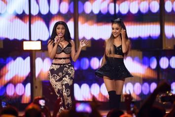 Nicki Minaj & Ariana Grande Aren't Concerned About Sharing A Release Date