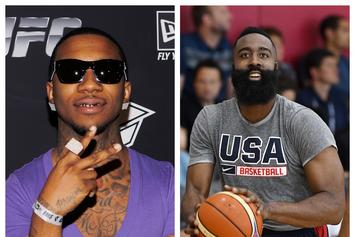 Lil B Lifts Curse From James Harden, Again