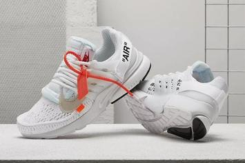 Off-White x Nike Air Presto Releasing Today Via Nike SNKRS