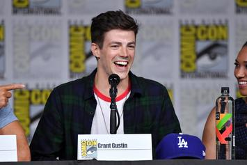 "Grant Gustin Calls Out Body Shamers After ""The Flash"" Season 5 Suit Leak"