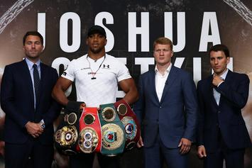 Wilder Vs. Joshua Undisputed Heavyweight Boxing Tilt Pegged For April 13