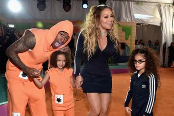Nick Cannon & Mariah Carey's 7-Year-Old Son Made A Christmas Song About Boobs