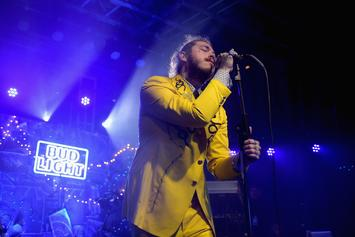 """Post Malone """"Has A New Lease On Life"""" After Surviving Flight Scare"""