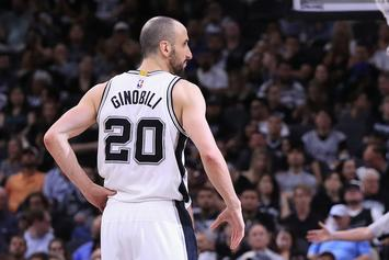 "Spurs' Manu Ginobili ""Seriously Considering"" Retirement: Report"
