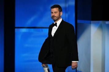 """Jimmy Kimmel: Kanye West's """"Silence Answered The Question"""" On Donald Trump"""