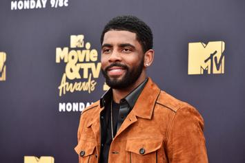 """Kyrie Irving Named """"Little Mountain"""" At Sioux Naming Ceremony"""