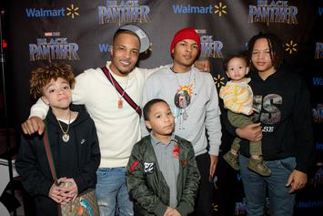 "T.I. Celebrates His Son In Honor Of His Birthday: ""Always On Your Ass About Something"""