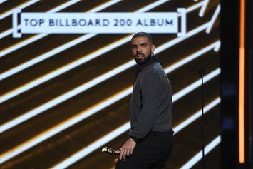"""Drake Logs 7th Week At No. 1 With """"In My Feelings,"""" Nears Usher's Record"""