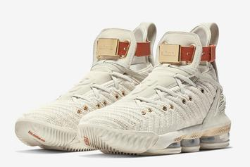 "Nike LeBron 16 ""Harlem's Fashion Row"" Releasing During NYFW"