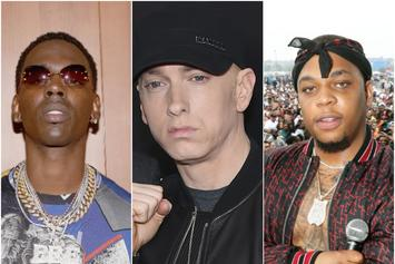 "Eminem, Young Dolph & Don Q Lead This Week's ""FIRE EMOJI"" Playlist"