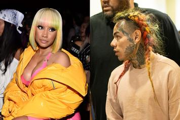 "Tekashi 6ix9ine Pledges Loyalty To ""The Only Queen"" Nicki Minaj"