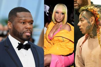 "50 Cent Warned Tekashi 6ix9ine & DJ SpinKing Of Nicki Minaj: ""Stay Out Of That Sh*t"""