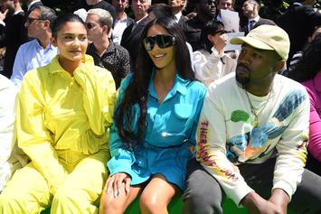 Kanye West Says Kim Kardashian Is In Law School