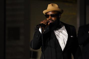 """Black Thought Jokes About Driving With Kanye West In His Trunk On """"The Tonight Show"""""""