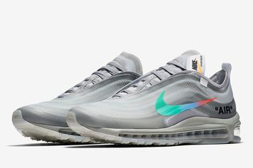 "Off-White x Nike Air Max 97 ""Menta"" Set To Release This Fall"