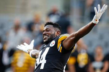 """Steelers' Antonio Brown To Twitter Critic: """"Trade Me Let's Find Out"""""""