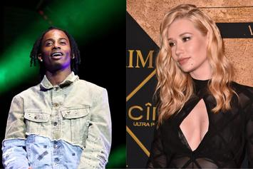 Iggy Azalea & Playboi Carti Are Boo'd Up: PDA At The Mall, Roses & Roller-Coasters