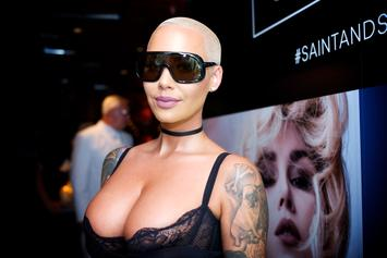 "Amber Rose Calls Out Double Standard In Kanye West's ""I Love It"""