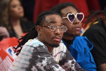 "Quavo Hypes Migos Solo Work, Including Takeoff's: "" He's Our Franchise Rookie Player"""