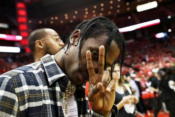 Travis Scott's On Father Duties Helping Baby Stormi Take Her First Step