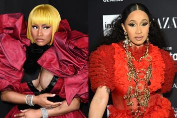 Nicki Minaj & Cardi B Attend Milan Fashion Week: Let The Games Begin