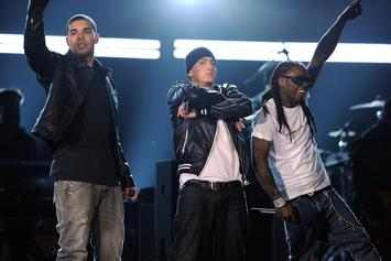 "Eminem's ""Killshot"" Ties Him With Lil Wayne For Third Most Top 10 Hits Among Rappers"