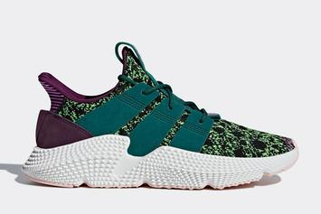 """Dragon Ball Z x Adidas Prophere """"Cell"""" Official Images"""