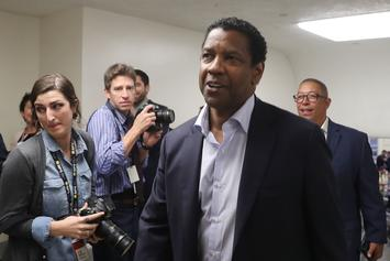 Denzel Washington's Capitol Hill Visit Turned Politicians Into Fanboys