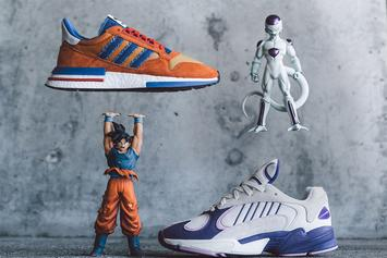 "Dragon Ball Z x Adidas ""Frieza"" & ""Goku"" Sneakers Releasing Tomorrow"