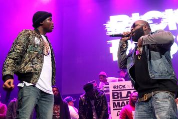 """Rick Ross Dubs Meek Mill The """"Voice Of The Streets"""""""