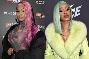 "Nicki Minaj Throws Shade At Cardi B With New ""Nicki Stopped My Bag"" Merch Line"
