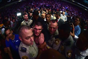 McGregor vs Khabib: New Footage Of Post-Fight Brawl, Sucker Punch