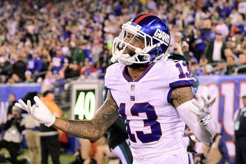 Giants Fined Odell Beckham Jr. For Comments In ESPN Interview