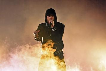 "Eminem Performs ""Venom"" From Top Of Empire State Building On Jimmy Kimmel"