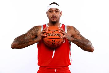Carmelo Anthony To Come Off The Bench Tonight For First Time In His Career