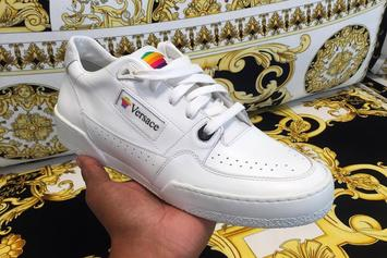 "Versace ""Apple"" Sneaker Surfaces On Instagram"