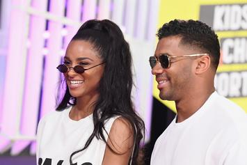 Ciara Is All Smiles When Russell Wilson Surprises Her At Los Angeles Birthday Show