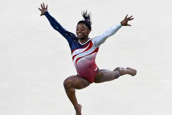 Simone Biles Can't Be Stopped, Not Even By A Kidney Stone