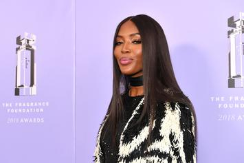 Naomi Campbell Dances In Creative Halloween Costume: A See-Through Dress