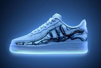 """Halloween-Themed Nike Air Force 1 """"Skeleton"""" Releasing Today: Purchase Links"""