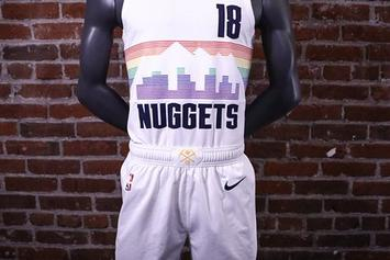 "Denver Nuggets Introduce Rainbow Skyline ""City Edition"" Uniforms"