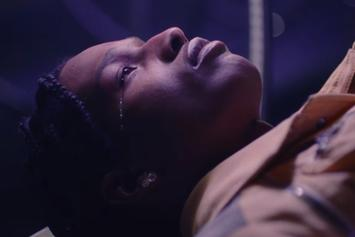 "A$AP Rocky Debuts The High-Gloss Video For ""Fukk Sleep"" With FKA Twigs"