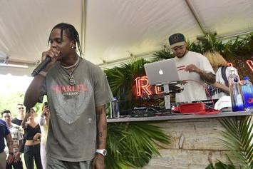 Travis Scott's Private Jet Interior Is Nicer Than Your Living Room