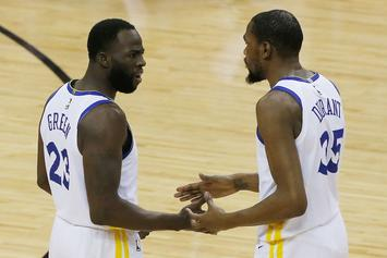 Kevin Durant's Brother & Draymond Green's Mom Weigh In On Feud