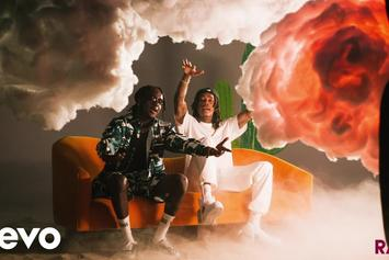 """K Camp & Wiz Khalifa Are Surrounded By Kush """"Clouds"""" In New Music Video"""